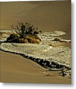Death Valley Salt Metal Print