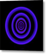 Deep Blue Metal Print