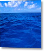 Deep Blue Ocean Metal Print