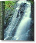 Deep Creek Falls Smoky Mountains Metal Print