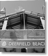 Deerfield Beach Metal Print