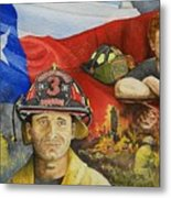 Defending Texas Metal Print