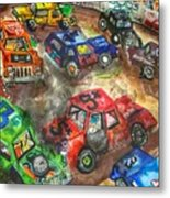 Demo Derby One Metal Print