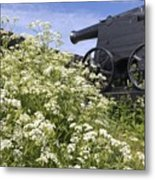 Denmark, Old Cannon On Bastion Metal Print