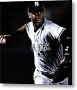 Derek Jeter Metal Print by Paul Ward