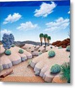 Desert Vista 2 Metal Print by Snake Jagger