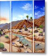 Desert Vista Metal Print by Snake Jagger