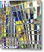 Desperate Reflections Metal Print