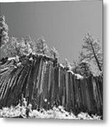 Devil's Postpile - Frozen Columns Of Lava Metal Print