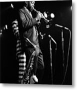 Dewey Redman On Musette Metal Print