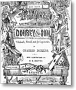 Dickens: Dombey And Son Metal Print