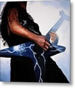 Dimebag Is Gd Electric Metal Print by Al  Molina