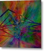 Dimensional Antenna Metal Print