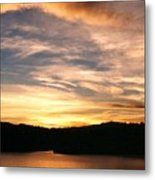 Dimming Of The Day Metal Print by Kelly Luquer