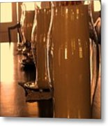 Dining Room Candles Metal Print