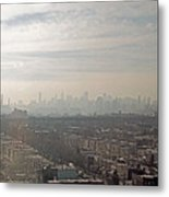 Distant City Metal Print