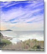 Do-00018 Look Out At Terrigal Metal Print