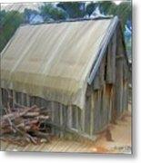 Do-00070 Small Cabin Metal Print