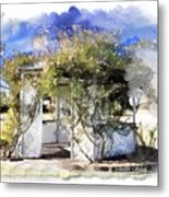 Do-00118 Gazebo Metal Print