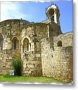Do-00344 Church Of St John Marcus In Byblos Metal Print