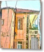 Do-00386 Old Building In Mar Mikhael Metal Print