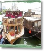 Do-00475 Old Boats Metal Print