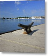 Dock's View Metal Print