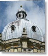 Dome In The Clouds Metal Print