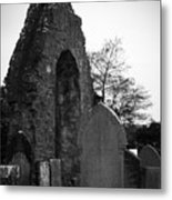 Donegal Abbey Ruins Donegal Ireland Metal Print