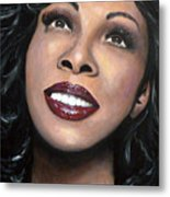 Donna Summer Metal Print by Tom Carlton