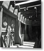 Doors And Shadows Metal Print