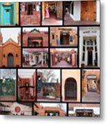 Doors Of Albuquerque Metal Print