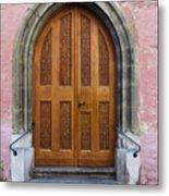 Doors Of Germany Metal Print