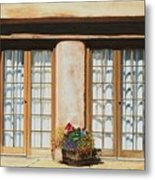 Doors Of Santa Fe Metal Print