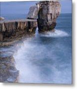 Dorset Seascape Metal Print