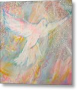 Dove Detail From Immaculate Conception Metal Print