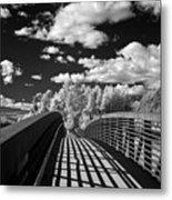 Dover Slough Bridge 1 Metal Print