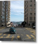 Down Hill From Here Metal Print