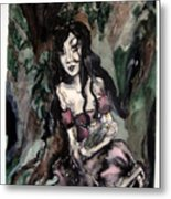 Down In The Woods Metal Print