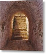 Down To The Cellar Metal Print