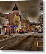 Down Town Lexington Va Metal Print