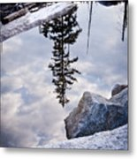 Downside Up Metal Print