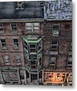 Downtown Philadelphia Building Metal Print