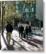 Downtownscape Metal Print