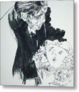 Dr. Jekyll As Mr. Hyde Metal Print