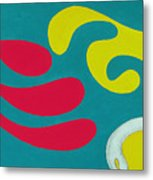 Dr. Seuss Breakfast Copyright Two Thousand Nine J.a.moscariello Metal Print