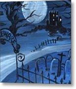 Dracula's Castle Metal Print