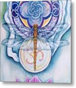 Dragonfly Spirit Metal Print by Diana Shively