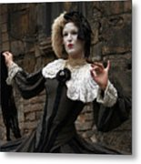 Drama In The Gothic Quarter Metal Print