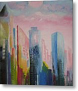 Dream City No.1 Metal Print